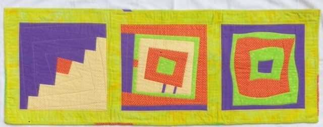 This image has an empty alt attribute; its file name is Sarah-H-Modern-quilting-Log-cabin-variations-May-21-2-rotated.jpg